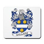Gallatin Coat of Arms Mousepad