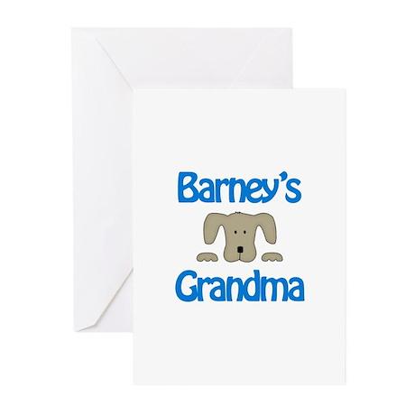 Barney's Grandma Greeting Cards (Pk of 10)