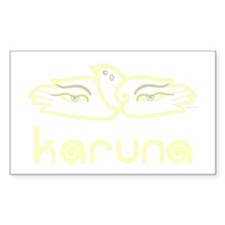 Karuna (Compassion) Rectangle Decal