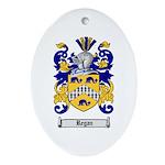 Regan Family Crest Oval Ornament