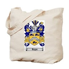 Regan Family Crest Tote Bag