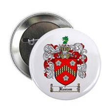 """Reeves Family Crest 2.25"""" Button (100 pack)"""