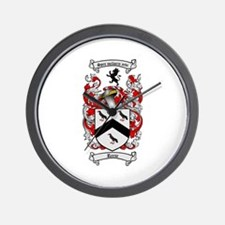 Reese Family Crest Wall Clock