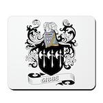 Gibbs Coat of Arms Mousepad