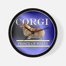 Welsh Corgi Wall Clock