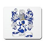 Giles Coat of Arms Mousepad