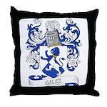 Giles Coat of Arms Throw Pillow