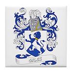 Giles Coat of Arms Tile Coaster