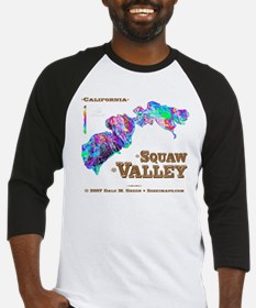 Squaw Valley Baseball Jersey