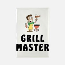 Grill Master II Rectangle Magnet