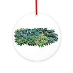 Hosta Clumps Ornament (Round)