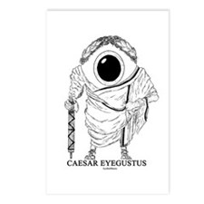 Caesar Eyegustus Postcards (Package of 8)