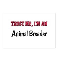 Trust Me I'm an Animal Breeder Postcards (Package