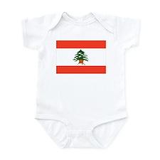Lebanon Flag Infant Bodysuit