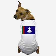 Old Lesotho Flag Dog T-Shirt