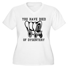 Oregon Trail - You have died T-Shirt