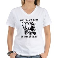 Oregon Trail - You have died Shirt
