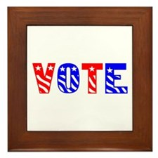 Vote Framed Tile