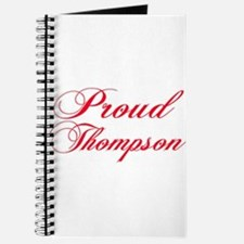 Proud Thompson Journal