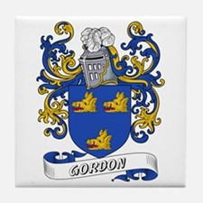 Gordon Coat of Arms Tile Coaster