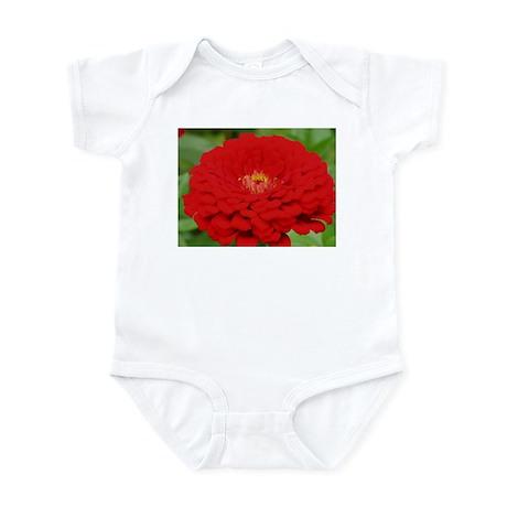 Red Zinnia Infant Creeper