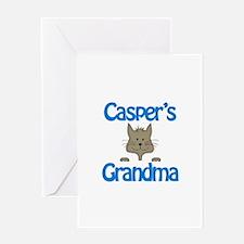 Casper's Grandma Greeting Card