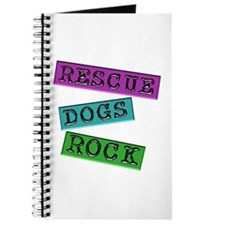 Rescue Dogs Rock Journal