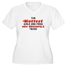 Hot Girls: New Braunfel, TX T-Shirt