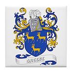 Greene Coat of Arms Tile Coaster