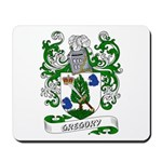 Gregory Coat of Arms Mousepad