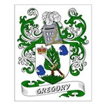 Gregory Coat of Arms Small Poster