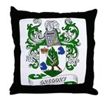 Gregory Coat of Arms Throw Pillow