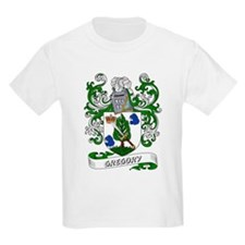 Gregory Coat of Arms Kids T-Shirt