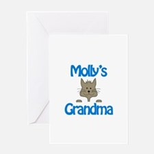 Molly's Grandma Greeting Card