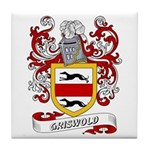Griswold Coat of Arms Tile Coaster