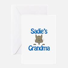 Sadie's Grandma Greeting Card