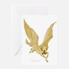 Pegasus in Flight ~ Greeting Card ~ Blank