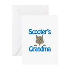 Scooter's Grandma Greeting Card