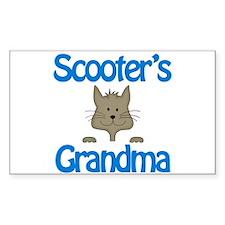 Scooter's Grandma Rectangle Bumper Stickers