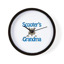 Scooter's Grandma Wall Clock
