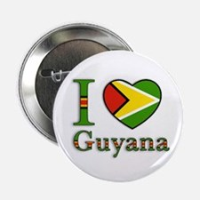 I love Guyana Button