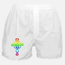 Rainbow Cross Boxer Shorts