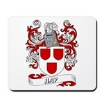 Hay Coat of Arms Mousepad