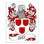 Hay Coat of Arms Small Poster