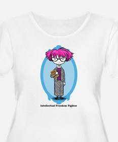INTELLECTUAL FREEDOM FIGHTER Women's Plus Size T
