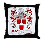 Hay Coat of Arms Throw Pillow