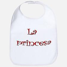 La Princesa ~ Rojo (red) Bib