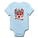 Hay Coat of Arms Infant Creeper