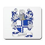 Hayden Coat of Arms Mousepad