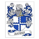 Hayden Coat of Arms Small Poster